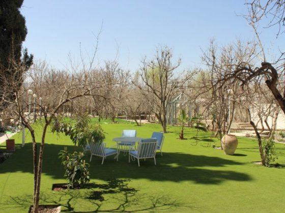 چمن مصنوعی باغ