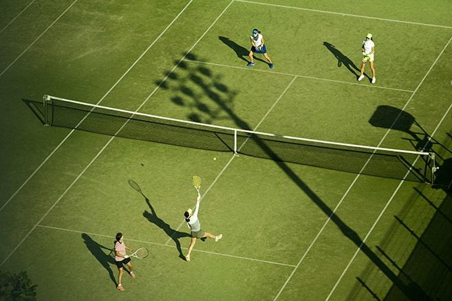 چمن تنیس